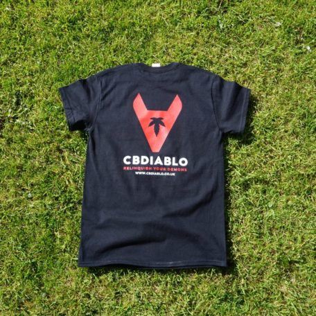 Brand t-shirt back