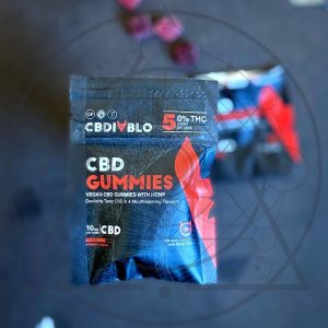 10mg Vegan CBD Gummies (5 Pcs)